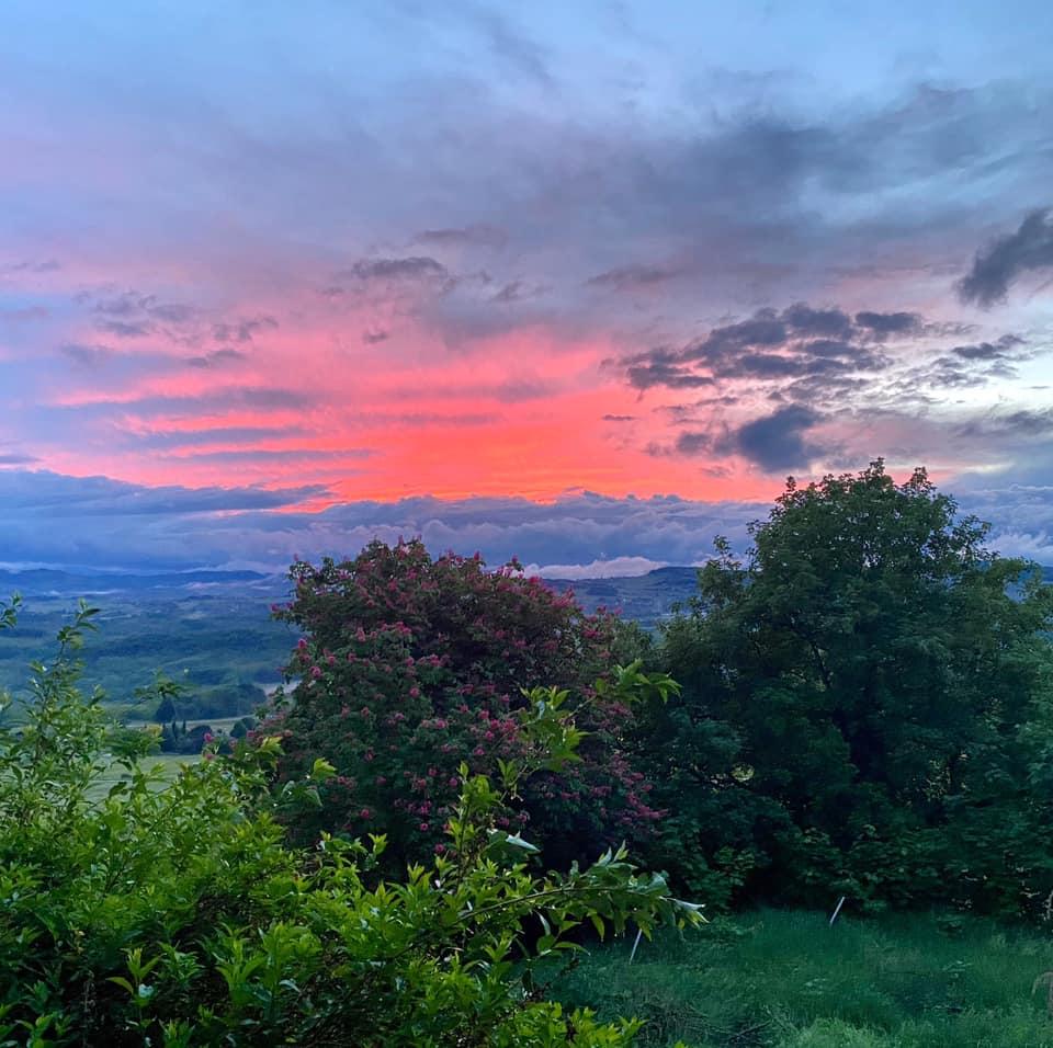 coucher de soleil à Bel Air